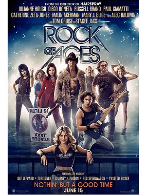 Tom Cruise, Rock of Ages Poster Reveals Abs
