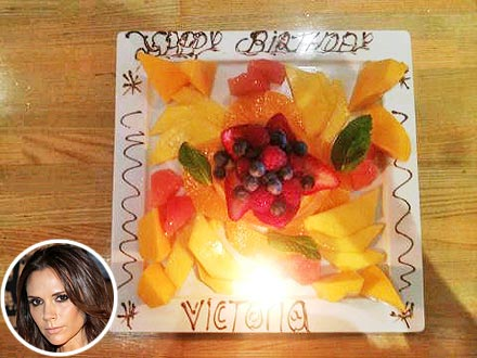 Victoria Beckham Turns 38, Has Fruit for Birthday Lunch