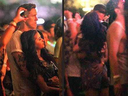 Katy Perry Cuddles with New Guy at Coachella