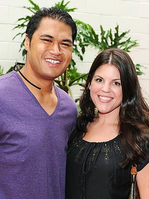 Biggest Loser's Sam Poueu and Stephanie Anderson Wed