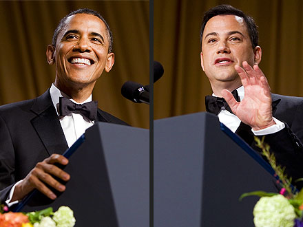 White House Correspondents' Dinner: Jimmy Kimmel vs. President Barack Obama