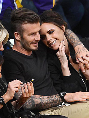David Beckham, Victoria Beckham Celebrate His Birthday: Pictures