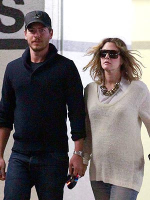 Drew Barrymore, Will Kopelman Hit Nantucket