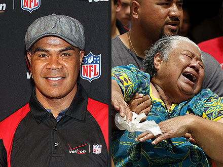 Junior Seau Found Dead: Jr Seau's Mother Luisa Seau Grieves- Video ...