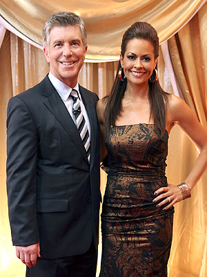 Brooke Burke-Charvet Has Tom Bergeron's 'Love and Support'  During Cancer Scare