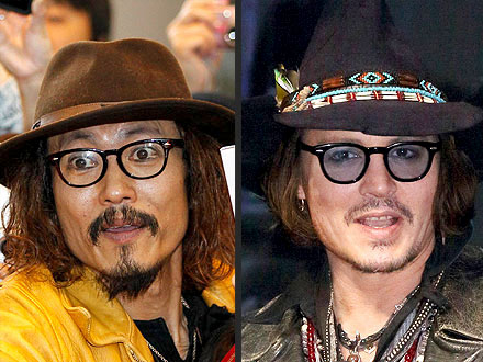 Johnny Depp Meets Ken Shimizu, His Japanese Impersonator