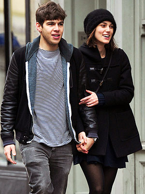 Keira Knightley with cool, Husband James Righton