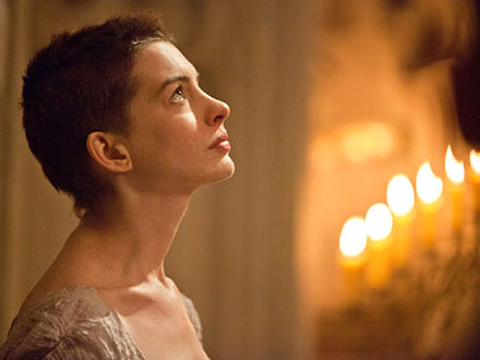 Anne Hathaway in Les Miserables as Fantine