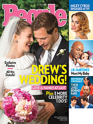 Drew Barrymore Opens Up About Wedding to Will Kopelman