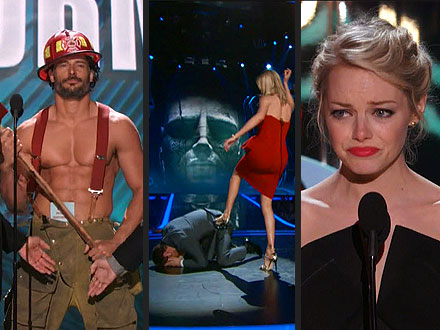 MTV Movie Awards: Best Moments - Charlize Theron, Emma Stone