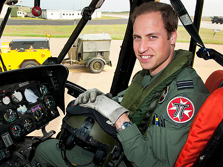 Duke of Cambridge Advances in RAF
