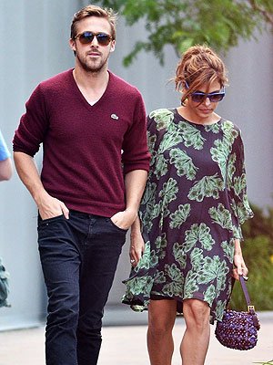 Are Ryan Gosling and Eva Mendes on the Rocks?