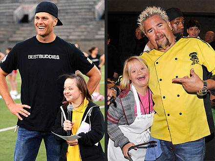 Tom Brady, Guy Fieri Participate in Best Buddies Charity Event