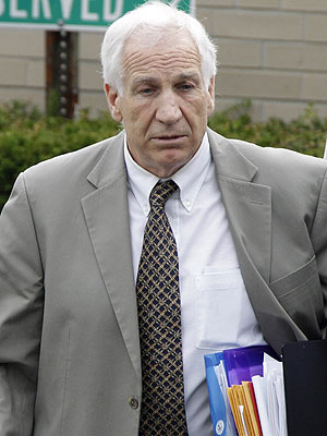 Jerry Sandusky's Adopted Son Says He Was Abused
