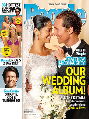 Matthew McConaughey&#39;s Wedding Photo Revealed
