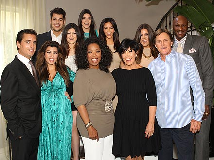 Kim Kardashian Tells Oprah Winfrey: 'I'm Totally Growing Up'
