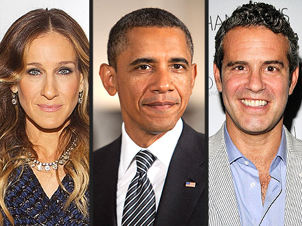 Sarah Jessica Parker Hosts a Fundraiser for President Obama
