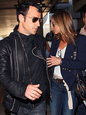Jennifer Aniston, Justin Theroux Engagement Rumors