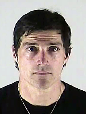 Matthew Fox Mug Shot Picture from DUI Arrest