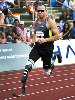 Oscar Pistorius, 'Blade Runner,' Charged with Girlfriend's Murder