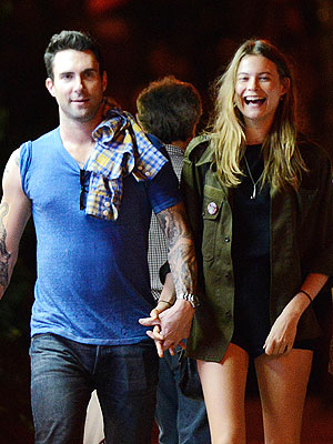 Adam Levine Dating Behati Prinsloo? The Singer and Model Step Out in New York