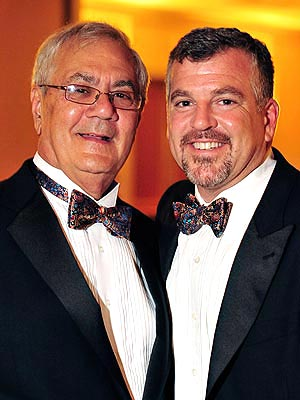 Barney Frank, Jim Ready Marry in Massachusetts