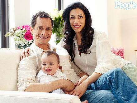 Anthony Weiner Shares a Family Photo