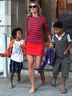 Heidi Klum's Kids Must 'Always Look Cool'