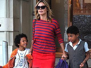 Heidi Klum's Kids Must 'Always Look Cool'