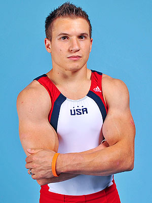 Jonathan Horton, US Men&#39;s Gymnastics Team Captain Having Fun at Olympic Village