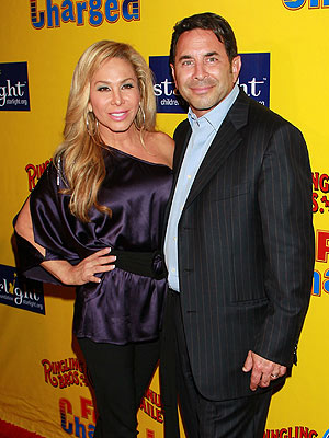 Real Housewives of Beverly Hills: Adrienne Maloof&#39;s Husband Files for Separation