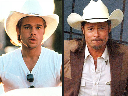 Brad Pitt Reprises His Cowboy Look in The Counselor