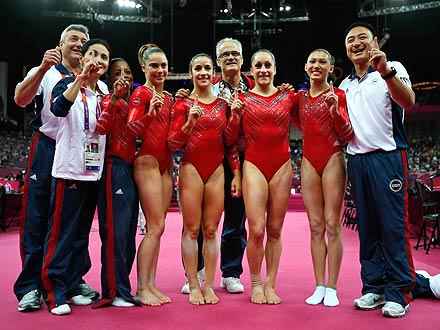 U.S. Women's Gymnastics Team Wins the Gold!