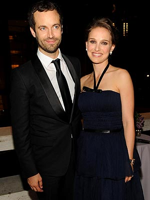 Natalie Portman with Husband Benjamin Millepied