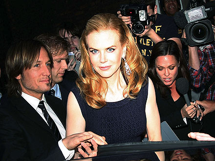 Olympic Games: Nicole Kidman, Keith Urban Party in London