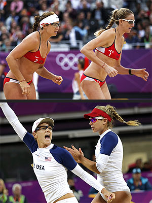 London Olympics 2012: Misty May Treanor, Women's Beach Volleyball Final
