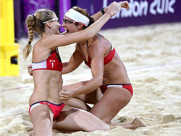 Misty May-Treanor & Kerri Walsh Are Queens of the Beach