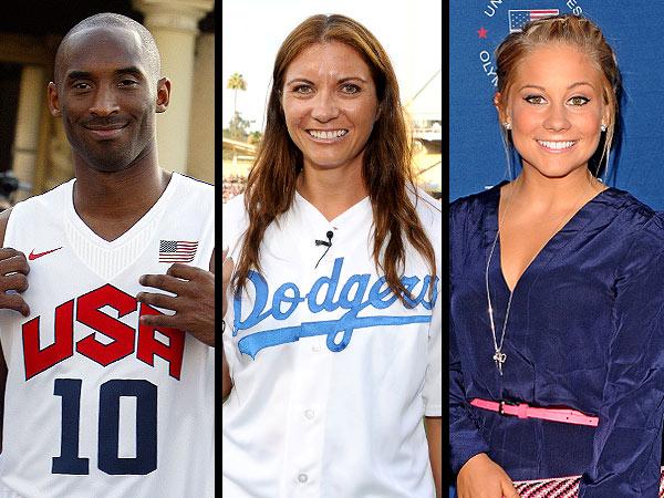 London 2012 Olympics: Follow Kobe, Shawn Johnson, Misty May Trayner on Facebook