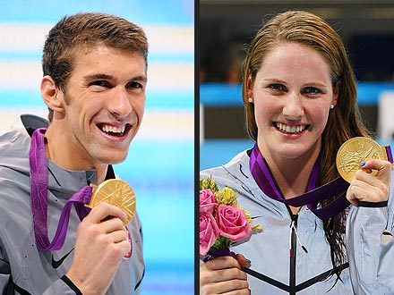 London Olympics 2012: Michael Phelps & Missy Franklin Relay Results