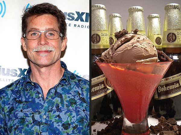 Rick Bayless Creates a Chocolate and Beer Ice Cream Dish