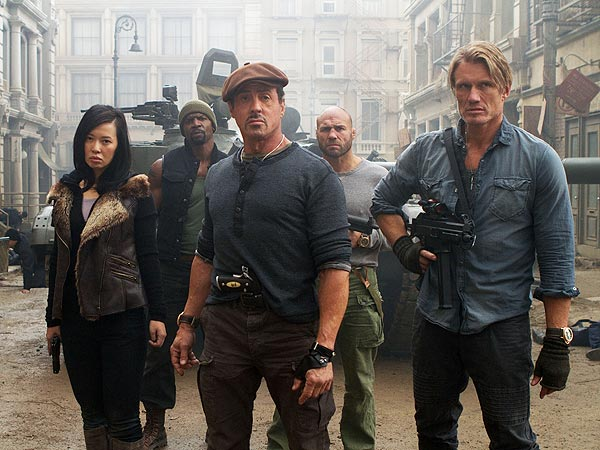 The Expendables 2: Funny and Action-Packed