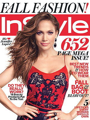 Jennifer Lopez Covers InStyle, Mixes Business with Pleasure