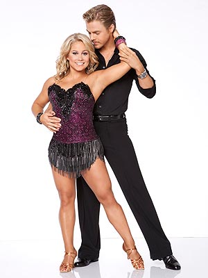 Dancing with the Stars: Shawn Johnson, Derek Hough Take Criticism