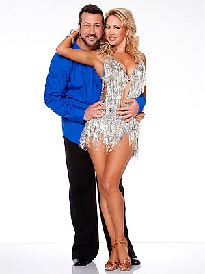 Dancing with the Stars: Kym Johnson Zeroes in on Apolo Ohno