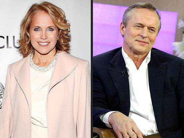 Katie Couric Has a Crush on John Grisham