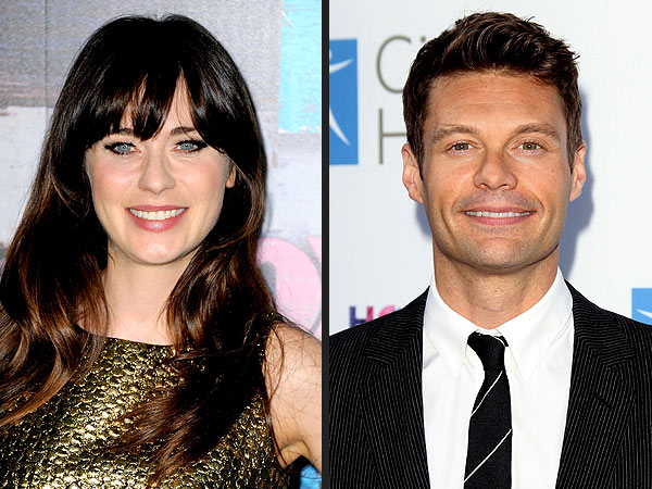 zooey deschanel dating ryan ross Zooey deschanel was a new girl at monday night's emmys with her latest boyfriend in tow.