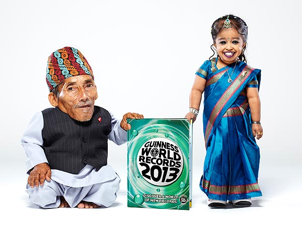 World's Shortest Man and Woman Are inducted into Guinness World Records