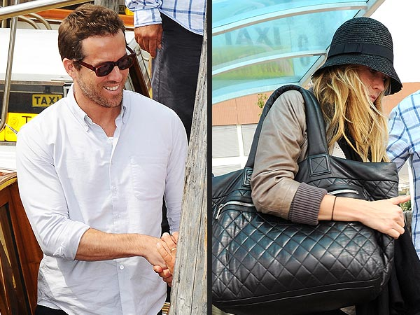 Ryan Reynolds & Blake Lively Arrive at Venice Film Festival