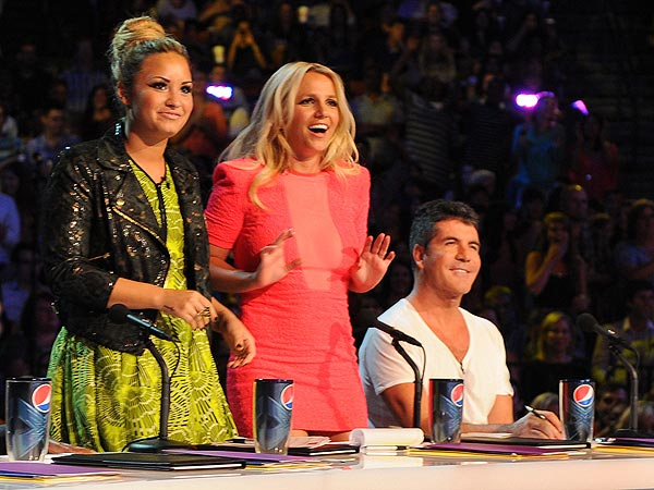 Britney Spears Debuts on The X Factor as a Judge