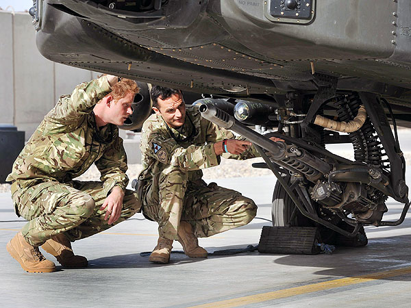 Prince Harry to Begin Apache Attack Helicopter Training in Afghanistan
